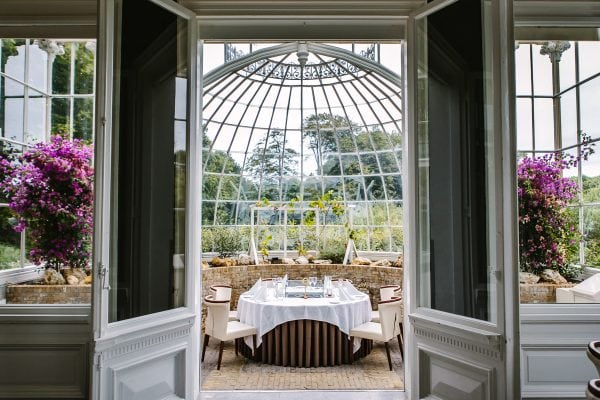 professional venue photography high-quality location image indoor view orangery orangerie