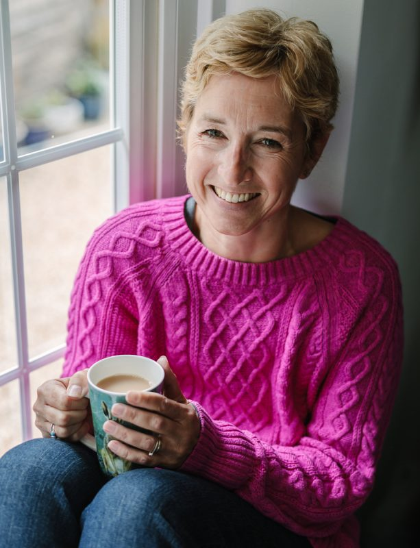 personal branding photo shoot session pureness gemma_cockrell guildford woman breast cancer awareness month pink jumper