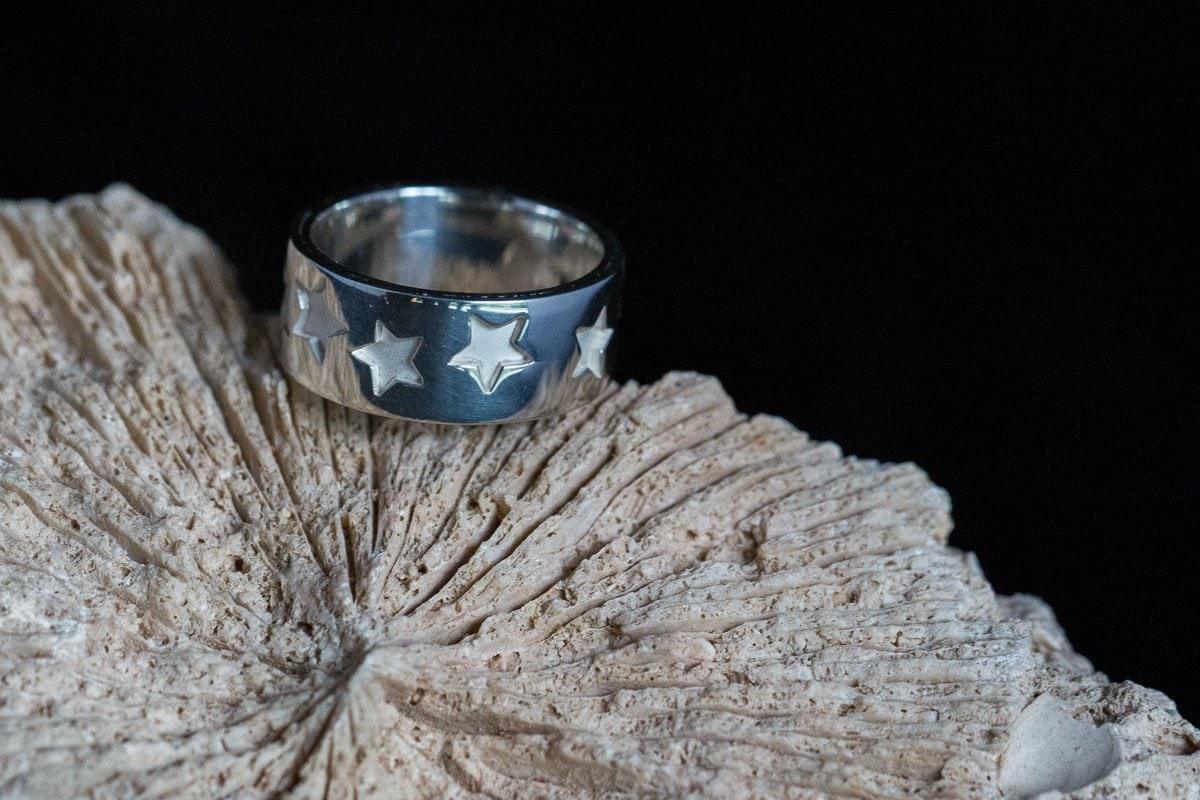 silver handmade ring personal branding photo product photography surrey jewellery designer goldsmith bespoke handmade silver jewellery