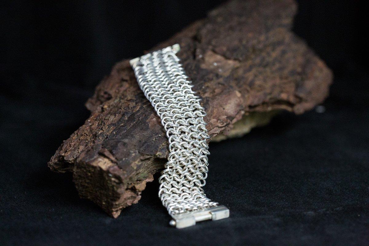 silver handmade bracelet personal branding photo product photography surrey jewellery designer goldsmith bespoke handmade silver jewellery